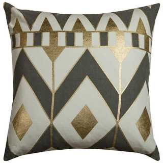 Rachel Kate by Rizzy Home Cotton 20-inch Geometric Throw Pillow