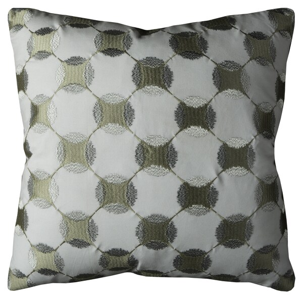 Rizzy Home Geometric Print Cotton 22-inch Throw Pillow