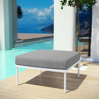 Link to Harmony Outdoor Patio Aluminum Ottoman Similar Items in Outdoor Sofas, Chairs & Sectionals