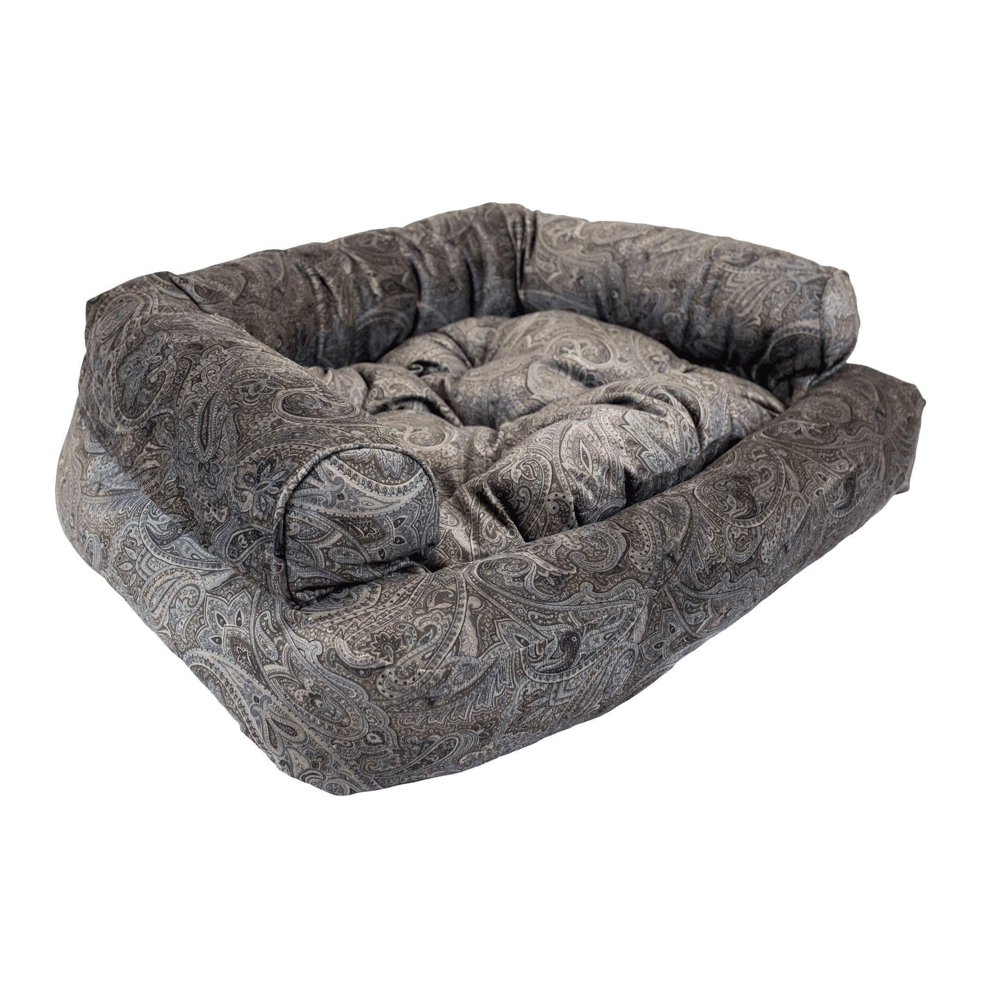 Snoozer Mocha Premium Overstuffed Laurel Pet Sofa (XLarge.