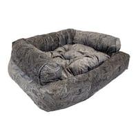 Snoozer Mocha Premium Overstuffed Laurel Pet Sofa