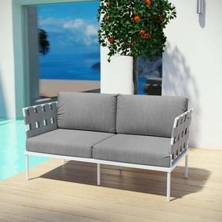 Link to Harmony Outdoor Patio Aluminum Loveseat Similar Items in Patio Furniture