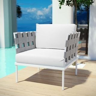 Link to Harmony Outdoor Patio Aluminum Armchair Similar Items in Patio Furniture