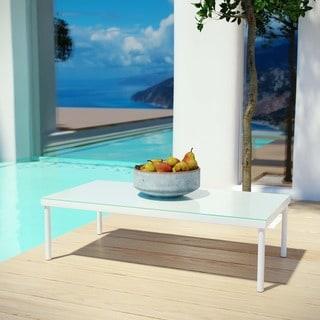 Harmony Outdoor Patio Aluminum Coffee Table