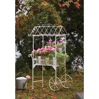 """Sunjoy 33.46"""" Inch Seville Flower Cart"""