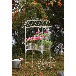 Sunjoy 33-inch Seville Flower Cart
