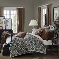 Madison Park Signature Sedona Brown Chenille Jacquard Comforter Set