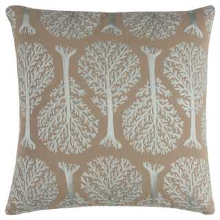Rizzy Home Embroidered Shapes Cotton Decorative Throw Pillow
