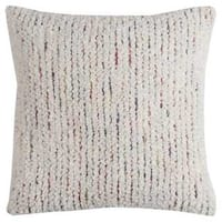 Rizzy Home Stripe Textured Cotton Decorative Throw Pillow