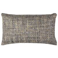 Rizzy Home All Over Threaded Pattern Brown/ Tan Cotton Decorative Throw Pillow
