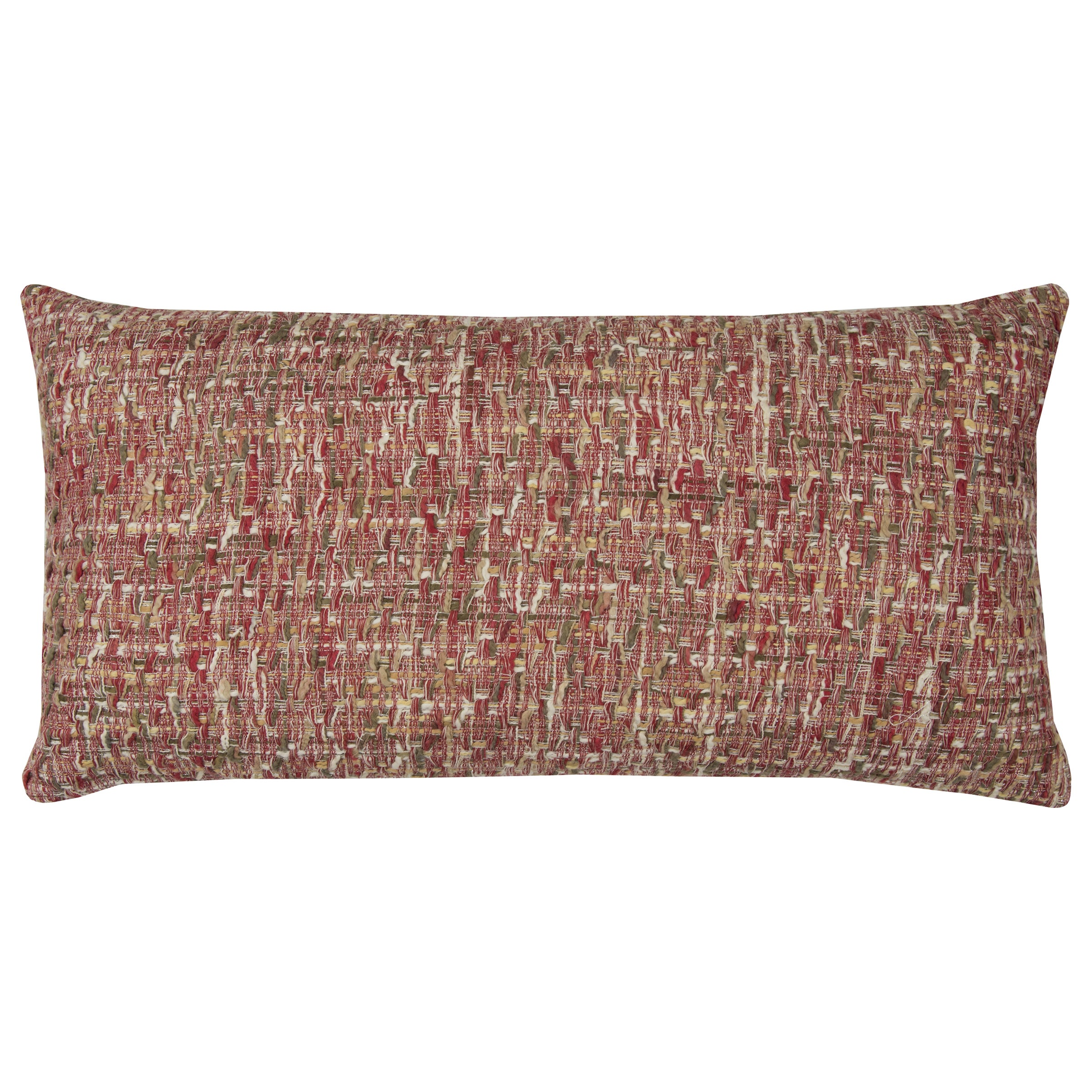 Rizzy Rugs All Over Threaded Pattern Red/ Brown Cotton De...