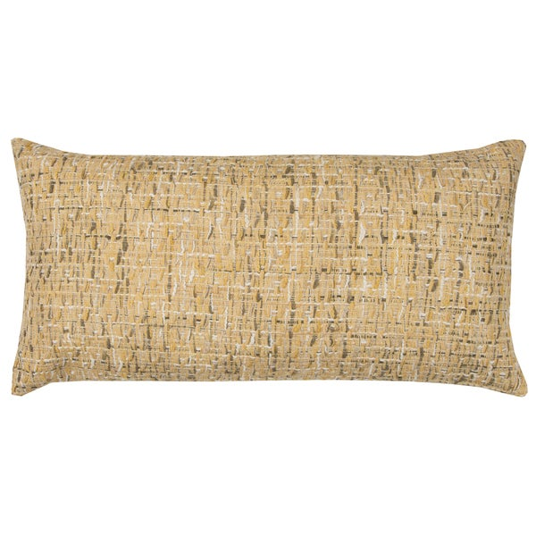 Rizzy Home All Over Threaded Pattern Cotton Decorative Throw Pillow