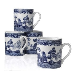 Blue Willow 10-oz. Mugs (Set of 4)