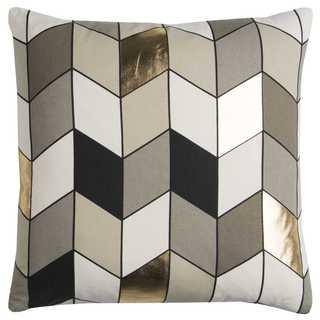 Rachel Kate By Rizzy Home Geometric Cotton Casement Decorative Throw Pillow