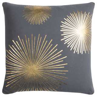 """Rachel Kate by Rizzy Home Star Cotton Casement Decorative Filled Throw Pillow (20"""" x 20"""")"""
