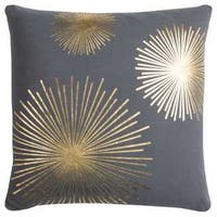 "Rachel Kate by Rizzy Home Star Cotton Casement Decorative Filled Throw Pillow (20"" x 20"")"
