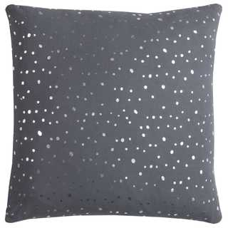 Rachel Kate By Rizzy Home Dots Cotton CasementDecorative Throw Pillow