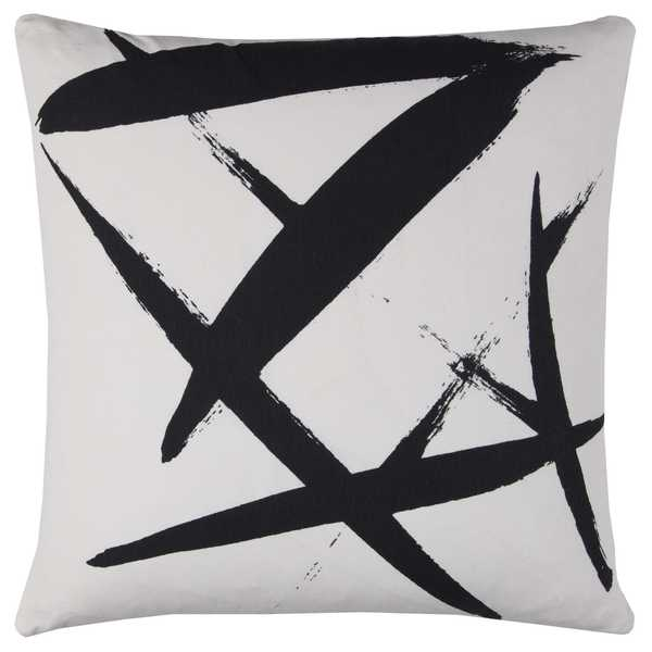 Rachel Kate By Rizzy Home Abstract Cotton Casement Decorative Throw Pillow