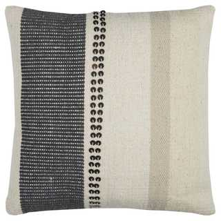 Rizzy Home Vertical Stripe Kilim Cotton Decorative Throw Pillow