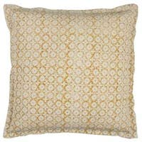 Rizzy Home 22-inch x 22-inch Cotton Geometric Solid Decorative Filled Throw Pillow