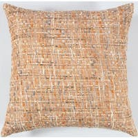 Rizzy Home ALL OVER THREADED PATTERN 22 x 22 Cotton decorative filled Throw Pillow