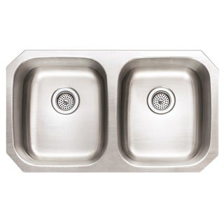 Winpro Undermount Double Bowl Stainless Steel Kitchen Sink