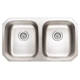 Winpro Undermount Double Bowl Stainless Steel Kitchen Sink