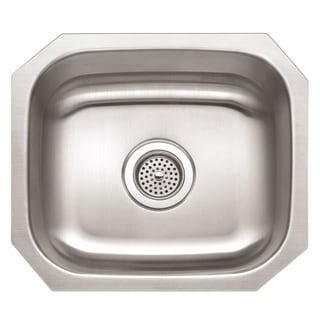 Winpro Undermount Single Bowl Stainless Steel Sink