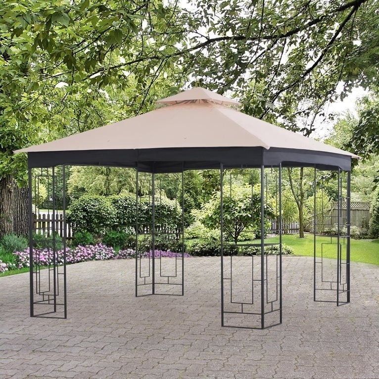 SunJoy Replacement Canopy for 10' x 10' Gazebo (Canopy On...