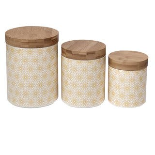 Buy Yellow Kitchen Canisters Online at Overstock   Our Best ...