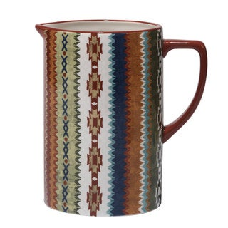 Certified International Monterrey Ceramic 80-ounce Pitcher