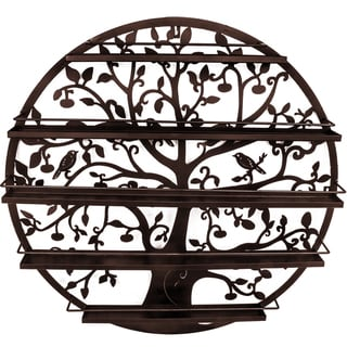 Link to Tree Silhouette Bronze Wall-mounted 5-tier Nail Polish Rack Similar Items in Nail Care