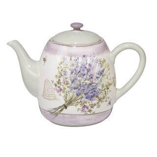 Certified International Herbes de Provence Ceramic 40 oz. Teapot|https://ak1.ostkcdn.com/images/products/14310256/P20892022.jpg?impolicy=medium