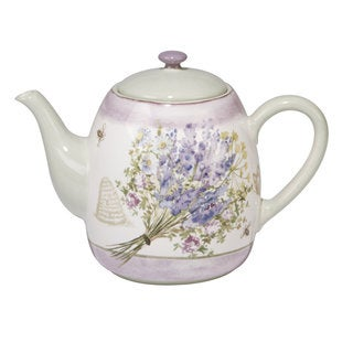 Certified International Herbes de Provence Ceramic 40 oz. Teapot