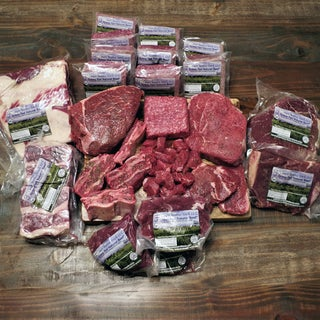 Canyon Meadows Ranch Grass-fed Beef Economy Variety Package