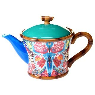 Tracy Porter for Poetic Wanderlust 'Magpie' 24-ounce Teapot|https://ak1.ostkcdn.com/images/products/14310262/P20892024.jpg?impolicy=medium