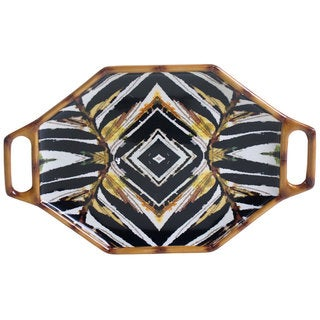 Tracy Porter for Poetic Wanderlust 'Imperial Bengal' 15.25-inch Oval Handled Platter