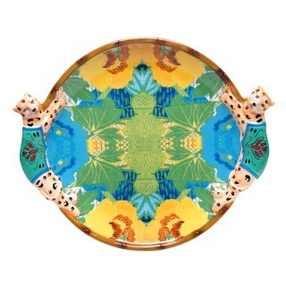 Tracy Porter for Poetic Wanderlust 'Magpie' 16-inch Oval 3-D Platter