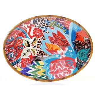 Tracy Porter for Poetic Wanderlust 'Magpie' 16-inch Oval Platter