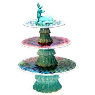 Tracy Porter for Poetic Wanderlust 'Folklore Holiday' 3-D 3-tier Centerpiece