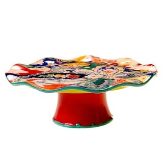 Tracy Porter for Poetic Wanderlust 'Scotch Moss' 12-inch Cake Stand
