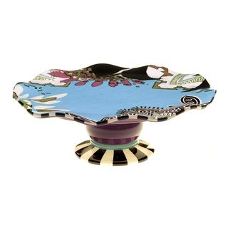 Tracy Porter for Poetic Wanderlust 'Rose Boheme' 12.25-inch Cake Stand