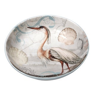 Certified International Coastal View Ceramic 13.25-inch x 3-inch Serving/Pasta Bowl