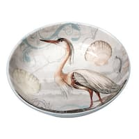 Certified International Coastal View Ceramic 13.25-inch x 3-inch Serving/Pasta Bowl