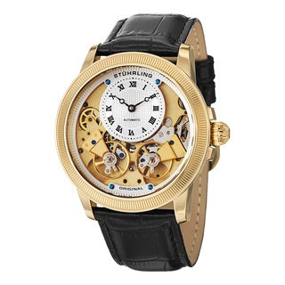 Stuhrling Original Men's Automatic Legacy Black Leather Strap Watch https://ak1.ostkcdn.com/images/products/14310354/P20892090.jpg?_ostk_perf_=percv&impolicy=medium