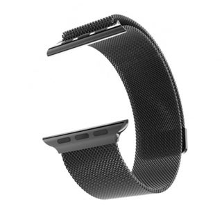 Milanese Loop for Apple Watch 38mm- Black
