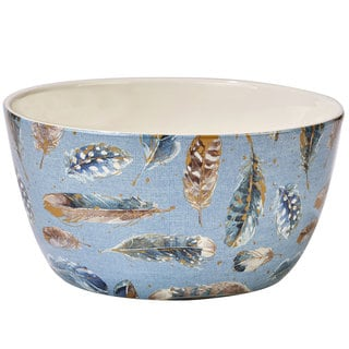Certified International Indigold Ceramic 11-inch x 5.5-inch Deep Bowl