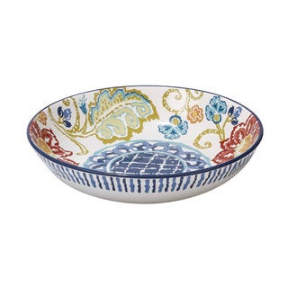 Certified International San Marino Ceramic 13.25-inch x 3-inch Pasta/Serving Bowl