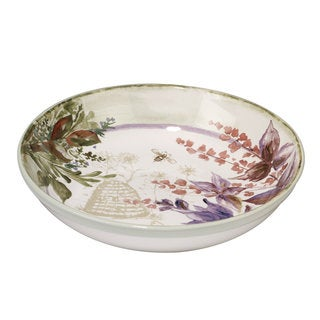 Certified International Herbes de Provence 13.25-inch x 3-inch Serving/Pasta Bowl