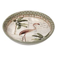 Certified International Floridian Ceramic 13.25-inch x 3-inch Serving/Pasta Bowl